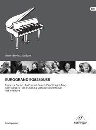 EUROGRAND EG8280USB - Behringer