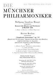 Wolfgang Amadeus Mozart Hector Berlioz - Münchner Philharmoniker