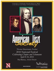 ALS Program (Page 1) - American Liszt Society