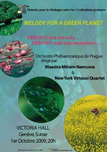 Melody for a Green Planet: Debussy, but not ... - unesdoc - Unesco