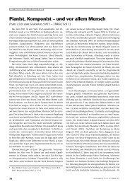 Pianist, Komponist – und vor allem Mensch - Perseus Verlag