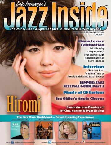Piano Lovers' Celebration Interviews SUMMER ... - Jazz Singers.com