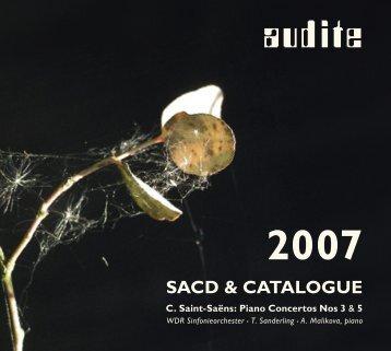 Textheft _ Katalog 2007 _ 136x122_84Seiten.indd - audite!