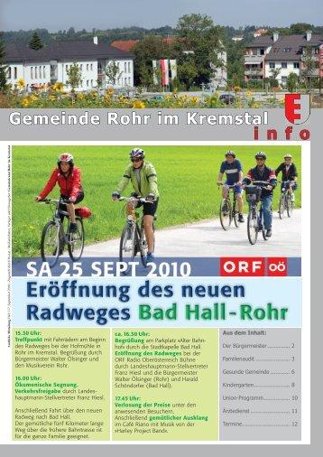Gemeinde Rohr im Kremstal i n f o