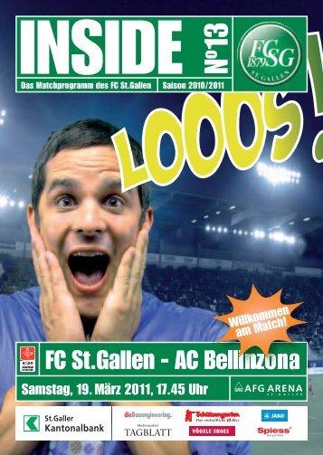 FC St.Gallen - AC Bellinzona