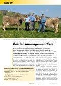 CHbraunvieh 09-2011 - Schweizer Braunviehzuchtverband - Seite 6