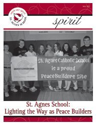 St. Agnes School: Lighting the Way as Peace Builders