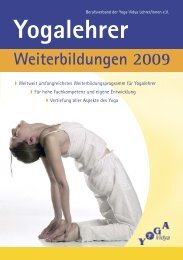 Yogalehrer - Yoga Vidya