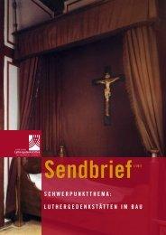 Schwerpunktthema: LuthergedenkStätten im Bau - Stiftung ...