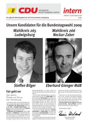 intern intern - CDU Ludwigsburg