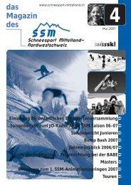Mai 2007 - Regionalverband Schneesport Mittelland