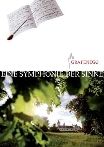 EINE SYMPHONIE DER SINNE - grafenegg