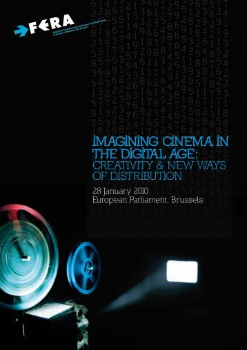 FERA Conference booklet - Federation of European Film Directors