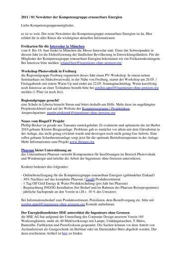 110515_Newsletter_2011-01 1 - Ingenieure ohne Grenzen