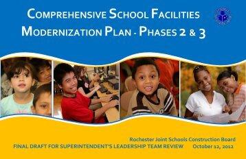 DRAFT Master Plan - Rochester City School District