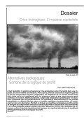 Crise écologique l'impasse capitaliste - cadtm - Page 4