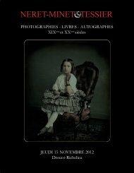 PHOTOGRAPHIES - LIVRES - AUTOGRAPHES XIXeme ... - Bibliorare