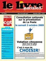 SOMMAIRE - Union Locale CGT du 10ème arrondissement de Paris
