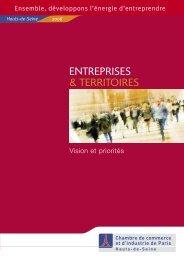 Entreprises et Territoires (2006) - Accueil