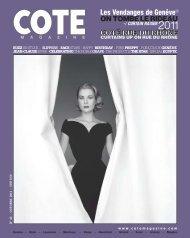 COTÉ RUE DU RHÔNE - Cote Magazine