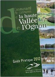 Guide pratique édition 2012 - Communauté de Communes de la ...