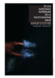 Organisation - Ecole nationale de la photographie