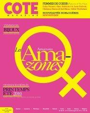 PRINTEMPS ÉTÉ2010 BIJOUX - Cote Magazine