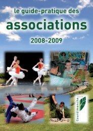 Guide des associations 2008/2009 (format pdf) - Accueil