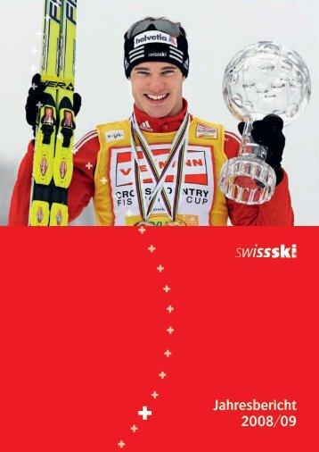 Jahresbericht 2008/09 als pdf herunterladen (3.3 MB - Swiss-Ski
