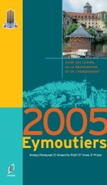 guide des loisirs - Eymoutiers