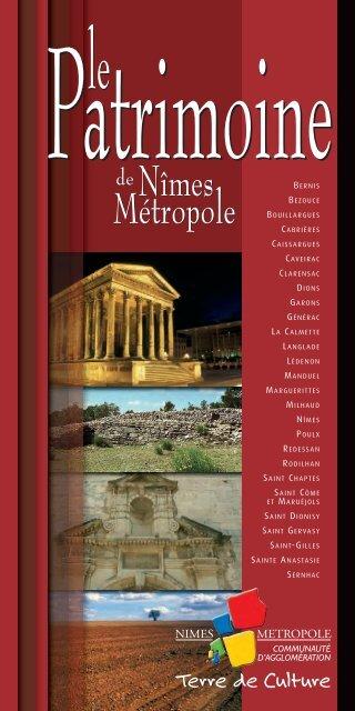 guide du patrimoine de nimes metropole - Nîmes Métropole