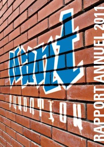 Rapport annuel 2011 - Fondation de Nant