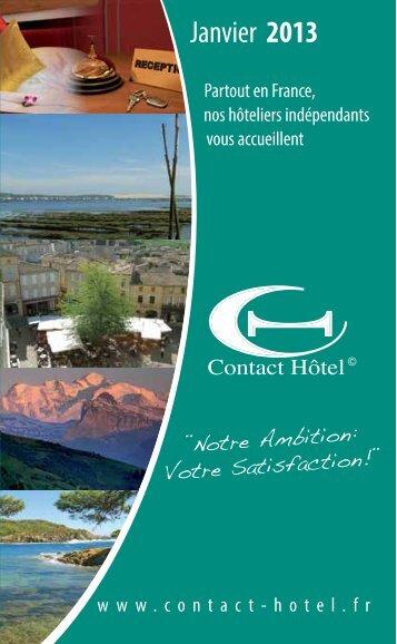 Télécharger la brochure (PDF) - Contact Hôtel