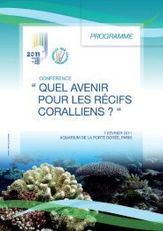 Télécharger le programme - International Coral Reef Initiative