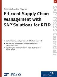 Efficient Supply Chain Management with SAP Solutions ... - SAP-Hefte