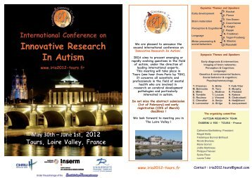 Innovative Research In Autism - SNLF