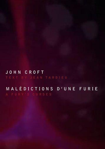 JOHN CROFT MALÉDICTIONS D'UNE FURIE