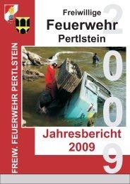 Der Jahresbericht 2009 - Freiwillige Feuerwehr Pertlstein