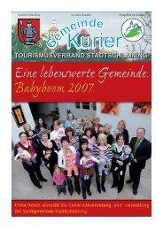 Dez 07 Titelseite.cdr - Stadtschlaining