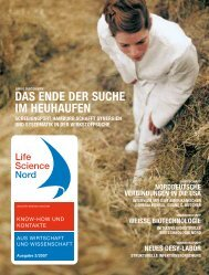 Life Science Nord Ausgabe 2/2007