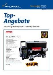 Top-Angebote 04/2011 - Steyr-Werner