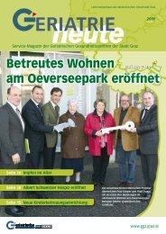Betreutes Wohnen am Oeverseepark eröffnet - Geriatrische ...
