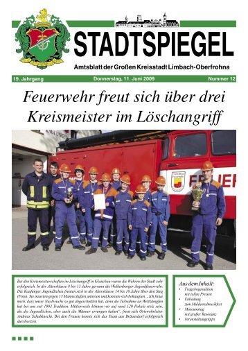 Stadtspiegel 12-09.indd - Stadt Limbach-Oberfrohna