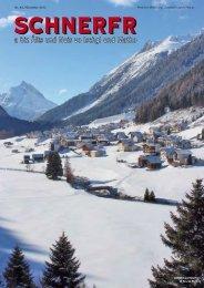 Schnerfr Nr. 44 / Dezember 2012 - Gemeinde Ischgl - Land Tirol