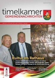 Kultur im Rathaus Kultur im Rathaus Kultur im Rathaus