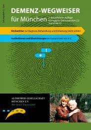 Demenz-Wegweiser M - Alzheimer Gesellschaft München