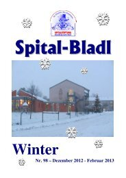 Spital-Bladl Winter 2012 - Spitalstiftung Neunburg vorm Wald - Stadt ...