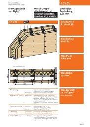 Metall-Doppel- ständerwand mit Feuerschutzplatten ... - Rigips