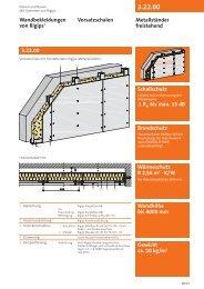 3.22.00 Brandschutz Schallschutz D Rw bis max. 15 dB - Rigips
