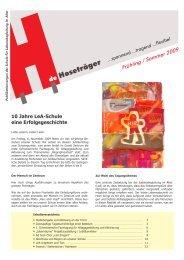 Ausgabe 9 Frühling / Sommer 2009 - Über uns